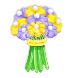 """Цветы из шаров """"Букет №9"""""""