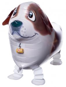 """Ходячая фигура """"Собака, Коричневый"""""""
