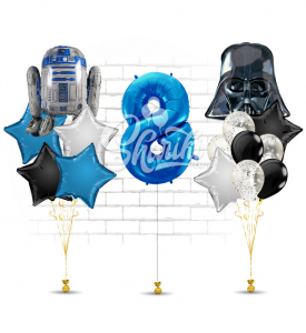 """Композиция """"Звёздные воины, с днём рождения!"""