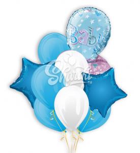 """Букет шаров """"Для новорожденного"""""""