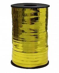 Лента металлизированная золото (250м)