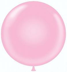 Большой шар на атласной ленте, Розовый