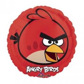 Шар 18 фольгированный Красная Птица