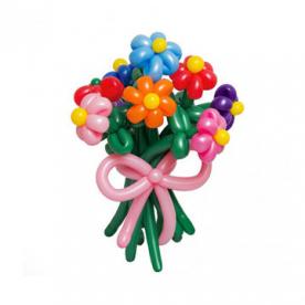 """Цветы из шаров """"Необычные радости"""""""