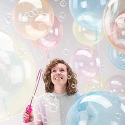 """Шар BUBBLE """"Мыльный пузырь"""", фиолетовый"""