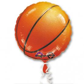 """Круг фольга """"Баскетбольный мячик"""""""