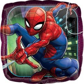 """Шар """"Человек паук"""", квадрат"""