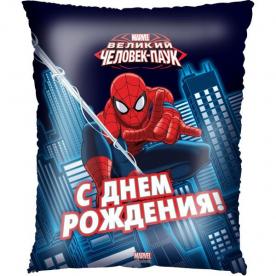 "Шар фольга подушка"" Человек паук"""