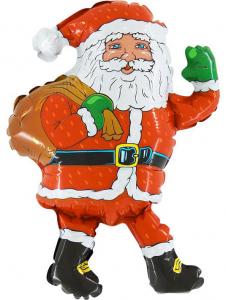 "Шар-фигура  ""Дед Мороз с мешком"""