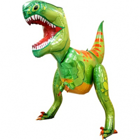 """Ходячая фигура """"Зеленый динозавр"""""""