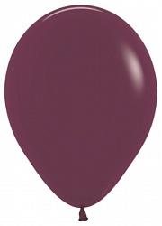 """Стандартный шар """"Бургундия металлик"""", 36 см"""