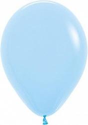 """Шар латекс """"Макарунс голубой"""",36 см"""