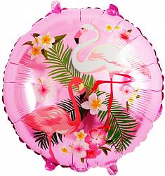 """Шар фольга """"Фламинго розовый"""""""