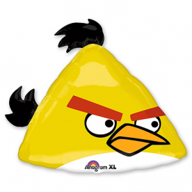"Шар Фигура ""Angry Birds Желтая Птица"""