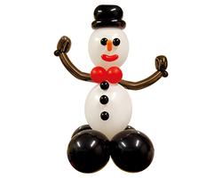 """Фигура из шаров """"Снеговик"""""""