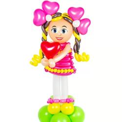 "Фигура из шаров ""Кукла"""