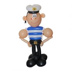 """Фигура из шаров """"Моряк"""""""