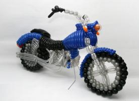 """Фигура из шаров """"Мотоцикл"""""""
