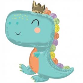 """Фигура фольга """"Малыш динозавр"""""""