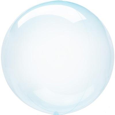 """Шар BUBBLE """"Мыльный пузырь"""", голубой"""