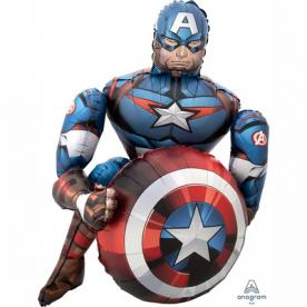 """Ходячая фигура """"Капитан Америка"""""""
