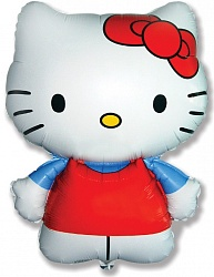 "Шар Фигура фольга ""Hello Kitty 2"""
