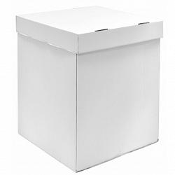 Коробка пустая,белая 55*55*80см