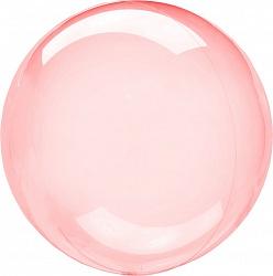 "Шар BUBBLE ""Мыльный пузырь"", красный"