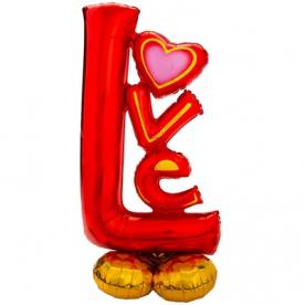 "Фигура фольга ""Air Love"", 147 см"