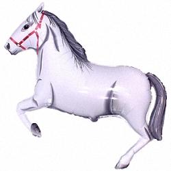 """Шар-фигура  """"Лошадь белая"""""""