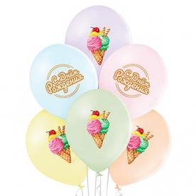 """Шар латекс """"Мороженое"""", 36 см"""