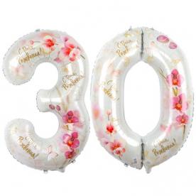 """Цифры """"30 Орхидеи"""", 2 шт"""