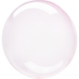 "Шар BUBBLE ""Мыльный пузырь"", розовый"