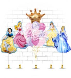 """Вариант оформления """"Вечеринка принцесс"""""""