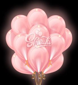 """Светящиеся шары Облако """"Розовые"""""""