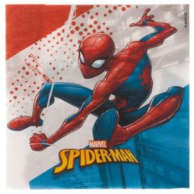 Салфетки Человек-Паук,33 см,20 штук