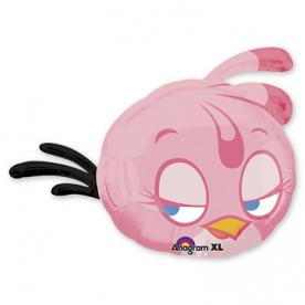 "Шар Фигура фольга ""Angry Birds Розовая Птица"""
