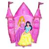 """Шар-фигура """"Принцессы и Замок розовый"""""""
