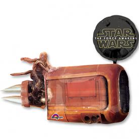 "Шар Фигура фольга ""Звёздные Войны Cruiser"""