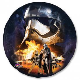 Шар Круг фольга Звёздные Войны-7 Fighter