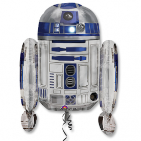 "Шар Фигура фольга ""Звёздные Войны R2D2"""