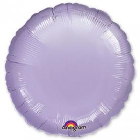Шар-круг сиреневый 46 см