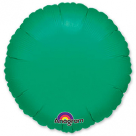 Шар-круг зеленый 46 см