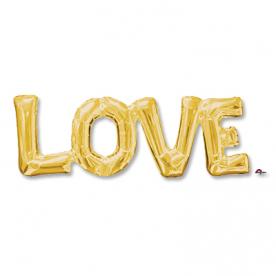 "Шар Фольга-надпись ""LOVE"""