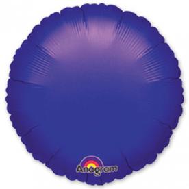 """Шарик 18"""" круг металлик Purple"""
