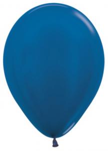 Стандартный шар  Синий Металлик, 36 см