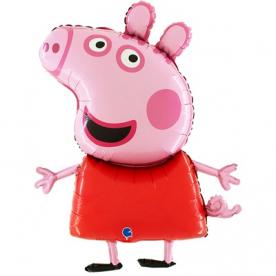 "Фигура фольга ""Свинка пеппа"""