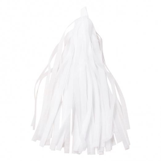 Тассел гирлянда белая