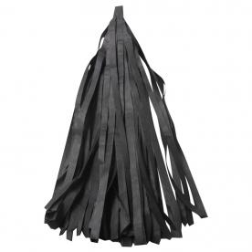 Тассел гирлянда черная