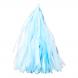 Тассел гирлянда голубая